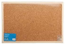 whsmith cork pin board 39x59cm whsmith