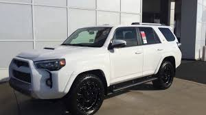 toyota 4runner 2017 white nicole u0027s 2016 toyota 4runner trail premium 4x4 xp by gerald youtube