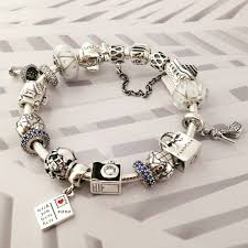 charm bracelet from pandora images 50 off 379 pandora charm bracelet blue white hot sale sku jpg
