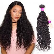 black wet and wavy hairstyles 1 bundle tinashehair