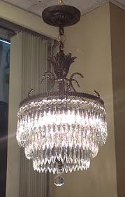 1950s Chandelier Antiques Vintage And Collectibles Daysi U0027o Galleria In West New