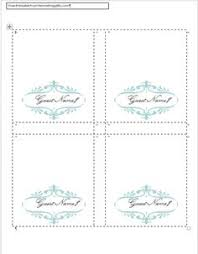 free printable wedding reception templates place cards and cards