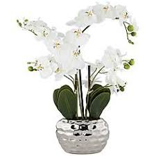 faux orchids artificial flower arrangements designer faux flowers ls plus