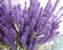 wedding flowers lavender lavender bouquet etsy