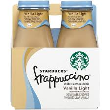 mocha frappuccino light calories starbucks frappuccino coffee drink vanilla light 9 5 fl oz 4