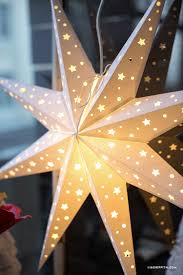 diy paper star window decoration lia griffith