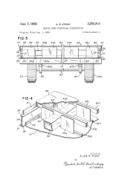 patent us3254914 mobile home underframe construction google