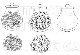 the cutting cafe u0027 fun with jars printable stamp set