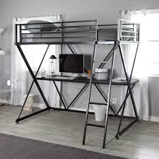 black metal twin loft bed with desk black metal twin size bunk bed loft with desk and ladder