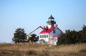 see the restoration work happening on 2nd oldest lighthouse in