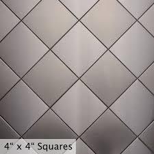 Harlequin Backsplash - stainless steel backsplash exact fit commerce metals