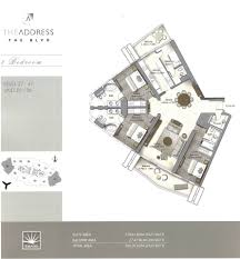 floor plans by address the address boulevard downtown dubai emaar floor plan 2 dubai