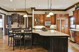 triangle kitchen island kitchen engaging picture of l shape wooden kitchen decoration using