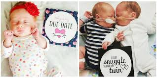these sweet milestone cards for preemies will move you to tears