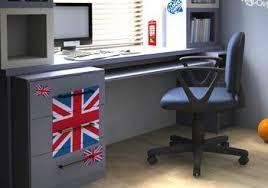 chambre anglais déco chambre ado style londres kit stickers drapeau anglais