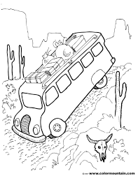 coloring page for van profitable rv coloring pages van page free pri 3318 unknown