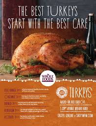 win an organic turkey from whole foods