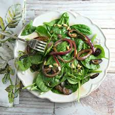 spinach salad with pomegranate balsamic vinaigrette recipe a