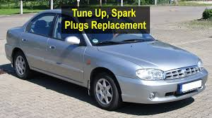 tune up spark plug replacement kia sephia 1997 2003 votd