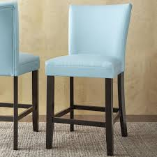 steve silver matinee bonded leather counter height chair wayside
