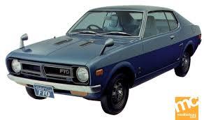 mitsubishi colt galant fto coupé 1971 automotive pinterest