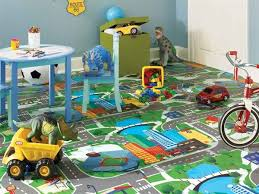 Best Flooring Images On Pinterest Children Painted Floors - Flooring for kids room