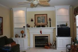 Built In Wall Units For Living Rooms by Built Entertainment In Unit Wall Fireplace Mantels Built In