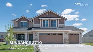 cbh homes sundance 2710 5 bed 2 5 bath 3 car garage