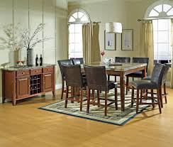 steve silver dining room furniture steve silver montibello transitional counter height marble veneer