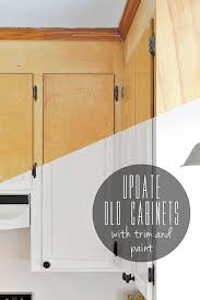 How To Modernize Kitchen Cabinets Diy Inexpensive Cabinet Updates Remodeling Farm Home Pinterest