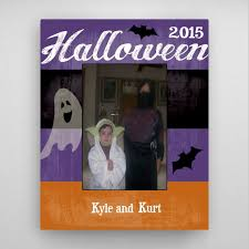 personalized halloween picture frame