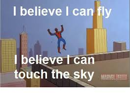 I Believe I Can Fly Meme - i believe i can fly believe can touch the sky martel jcom meme on