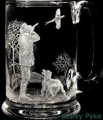384 best engraved glass images on glass engraving