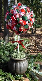 of dawn crafts christmas ribbon topiary