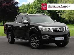 black nissan 2016 nissan navara double cab pick up tekna 2 3dci 190 4wd auto black