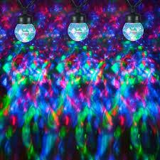 christmas spotlights gemmy swirling green blue led kaleidoscope christmas