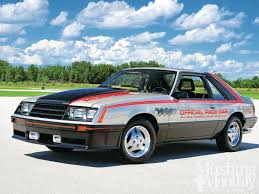 mustang of indianapolis 1979 ford mustang indy pace car project photo image gallery