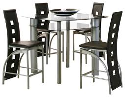 glass counter height table sets dining rooms counter height furniture plus delaware