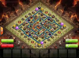 th10 war base trophy base at champion league 3 clash of clans