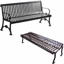 White Metal Outdoor Bench Coated Metal Benches Metal Outdoor Benches National Outdoor