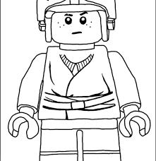 lego luke skywalker coloring pages picture lego star wars coloring