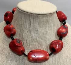 coral necklace images Hot stunning red coral necklace jpg