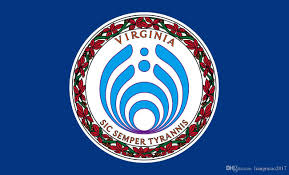 State Flag Of Virginia 3ft X 5ft Virginia Bassnectar Flag 100d Polyester Decorative