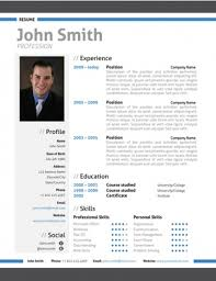 modern resume templates modern resume format trendy resumes top 10 creative resume templates