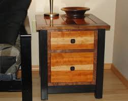 Mission Style Nightstand Mission End Table Etsy