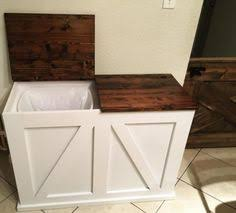 kitchen bin ideas white build a wood tilt out trash or recycling cabinet free