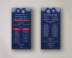 design wedding programs zalewski designer developer illustrator