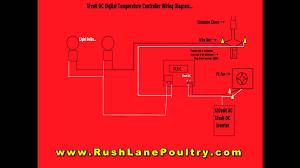 w1209 12volt dc digital temp controller wiring diagram youtube