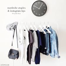 wardrobe staples u0026 instagram tips the pink diary