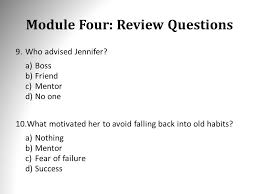 module two review questions 1 which of the following thinking is